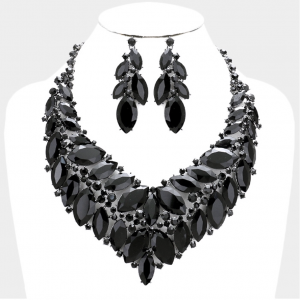 Black Crystal Evening set