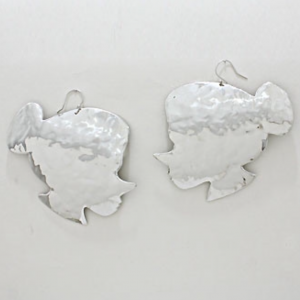 Betty Boo Silver Earrings