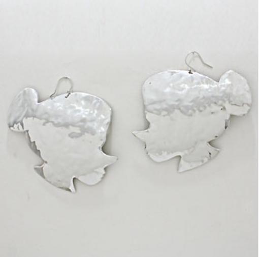 Betty Boo Silver Earrings