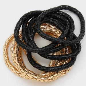 Black & Gold Pack Bracelet