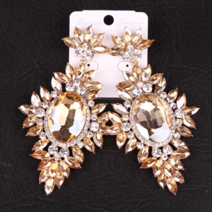 Large Bling Chandelier Earrings