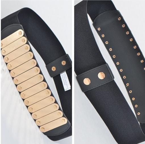 Gold & Black Belt