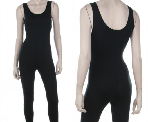 Black Jersey Jumpsuit