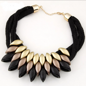Black & Gold Choker