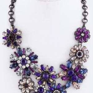 Purple & Lilac Necklace